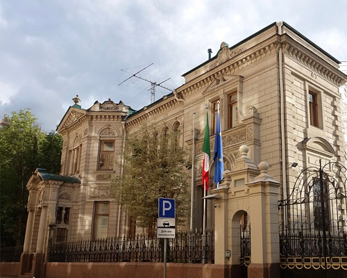 Embassy of Italy In Russia